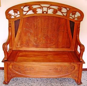 Piacevolezze rigorosamente vecchie bancarella del legno for Cassapanca del 500