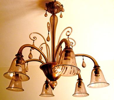 lampadario veneziano : Lampadario veneziano